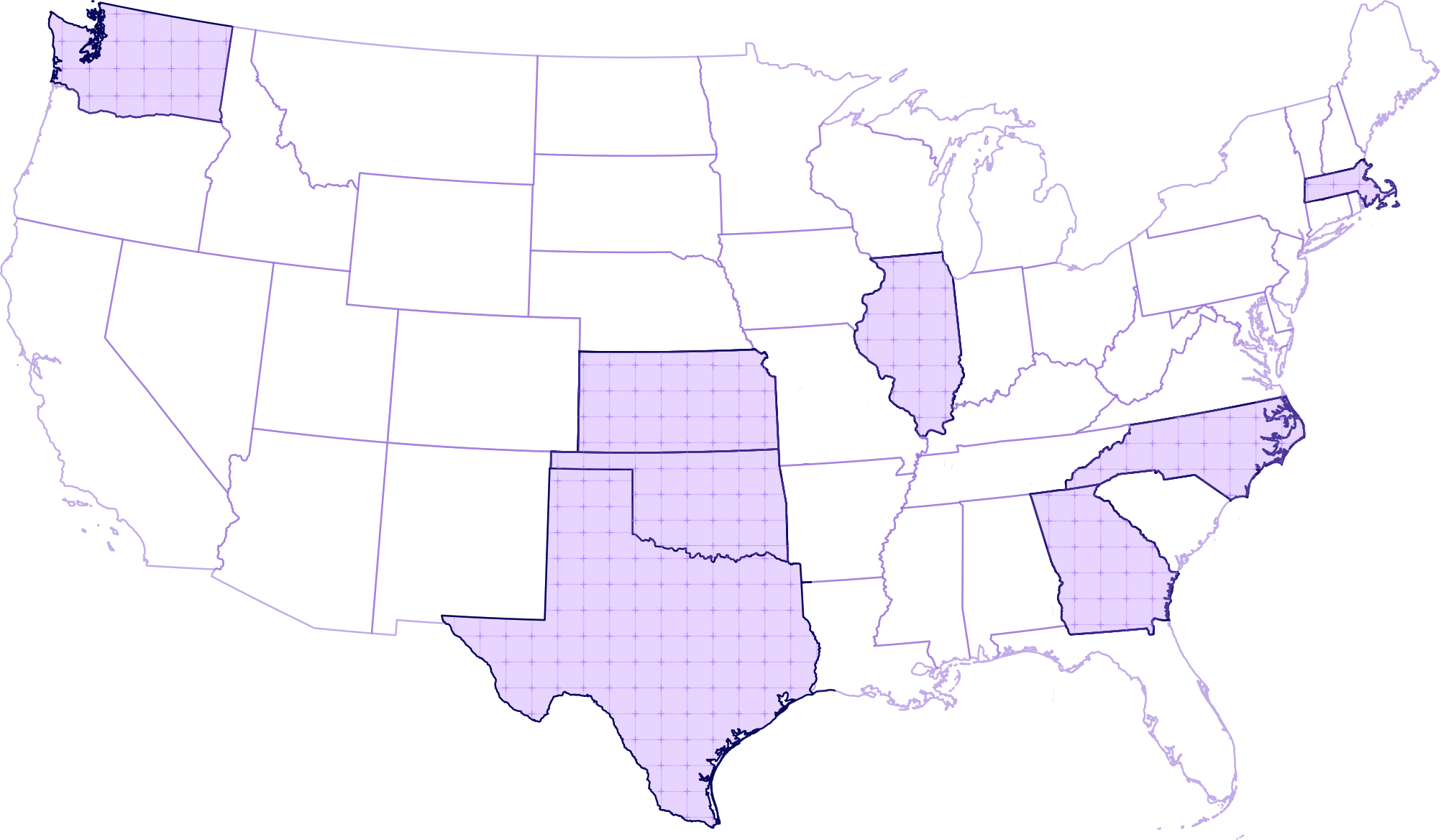 PlusPass Coverage Map